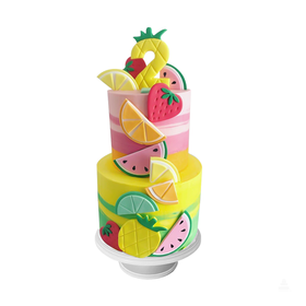Summer & Fruits Cake
