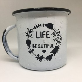 Pocillo 1/4 - Life is beautiful